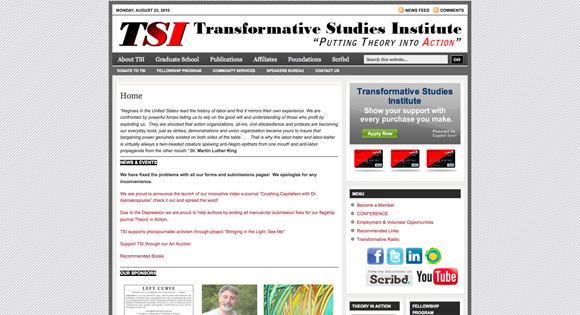 Transformative Studies Institute